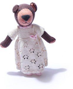 Organic Cotton Brown Bear by ChunkiChilli