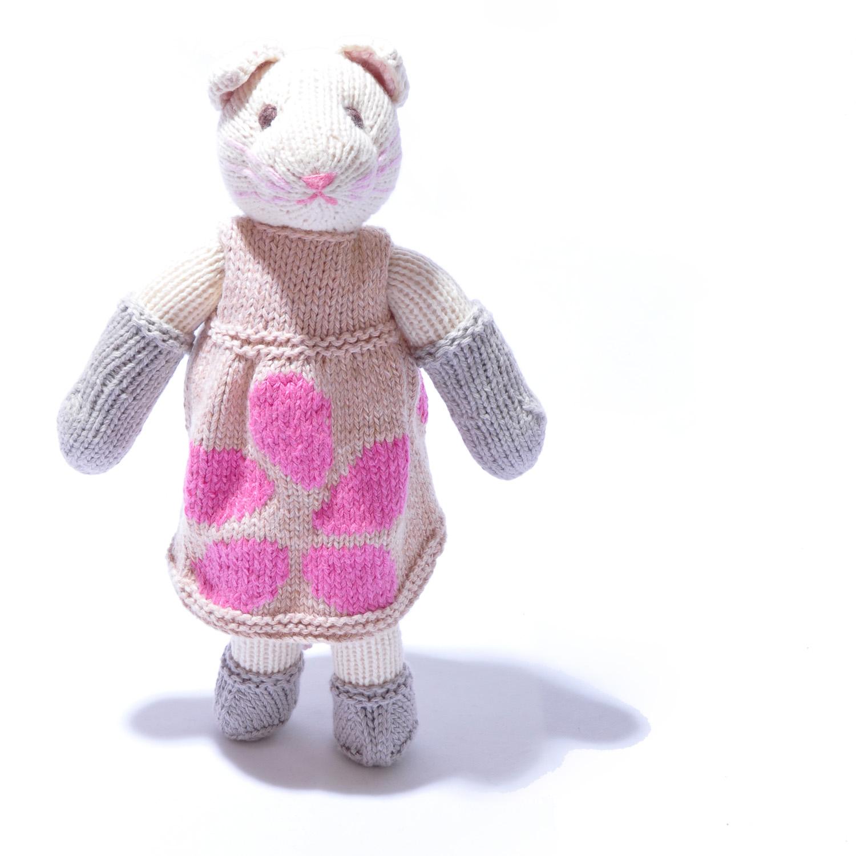 Organic Cotton Cat Soft Toy by ChunkiChiilli