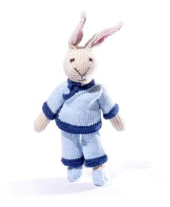Rabbit Soft Toy in Qing Suit