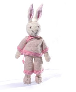 Rabbit Soft Toy in Chinese Oufit