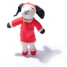 Christmas Sheep Toy by ChunkiChilli