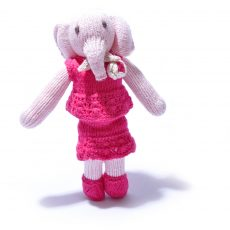 Elephant Soft Toy in Skirt Suit by ChunkiChilli