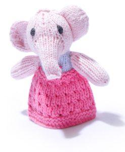 Elephant Finger Puppet by ChunkiChilli