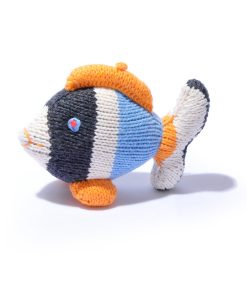 Organic Cotton Fish Soft Toy by ChunkiChilli