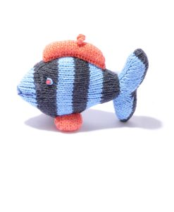 Organic Cotton Stripy Fish