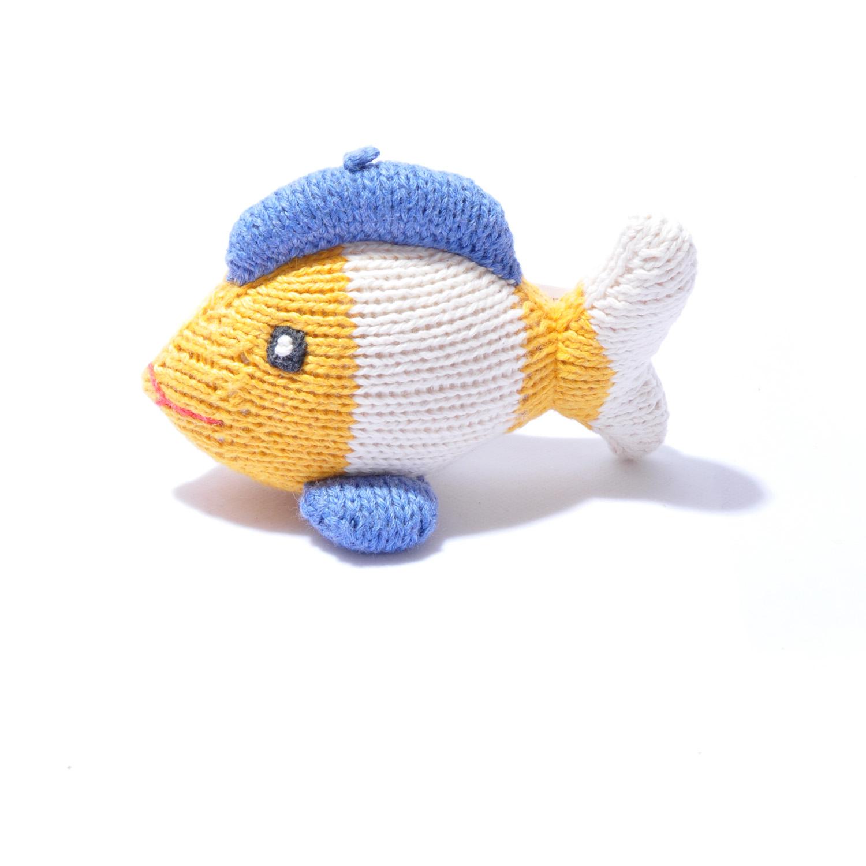 Organic Cotton Fish Soft Toy by ChunkiChilli