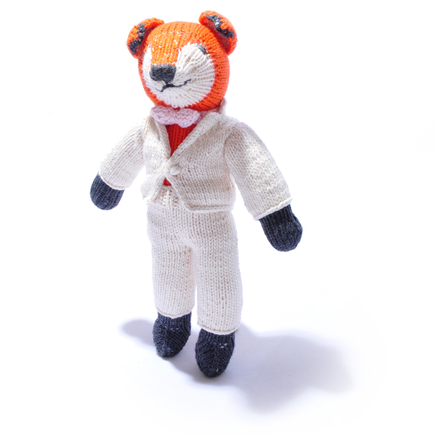 Organic Cotton Fox Soft Toy by ChunkiChilli