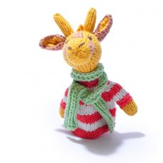Organic Cotton Giraffe Finger Puppet by ChunkiChilli