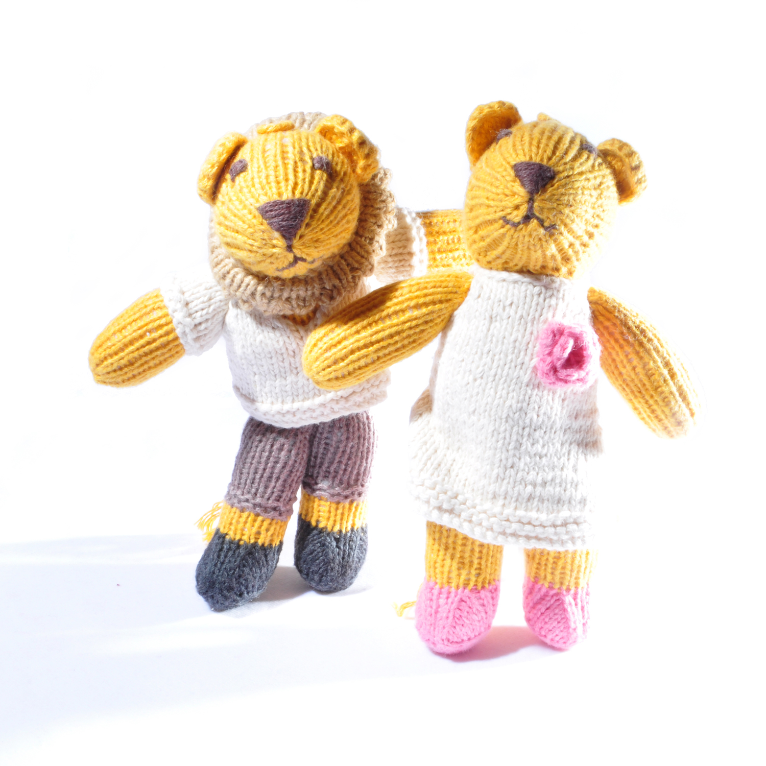 Matching Lion Toddler Soft Toys
