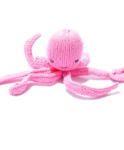 Pink Octopus Soft Toy by ChunkiChilli