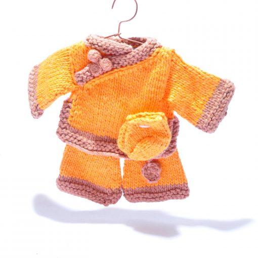 Organic Cotton Orange Outfit by ChunkiChilli
