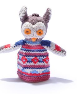 Owl Finger Puppet by ChunkiChilli