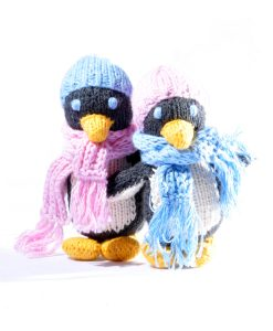 Set of Two Toddler Penguin Soft Toys