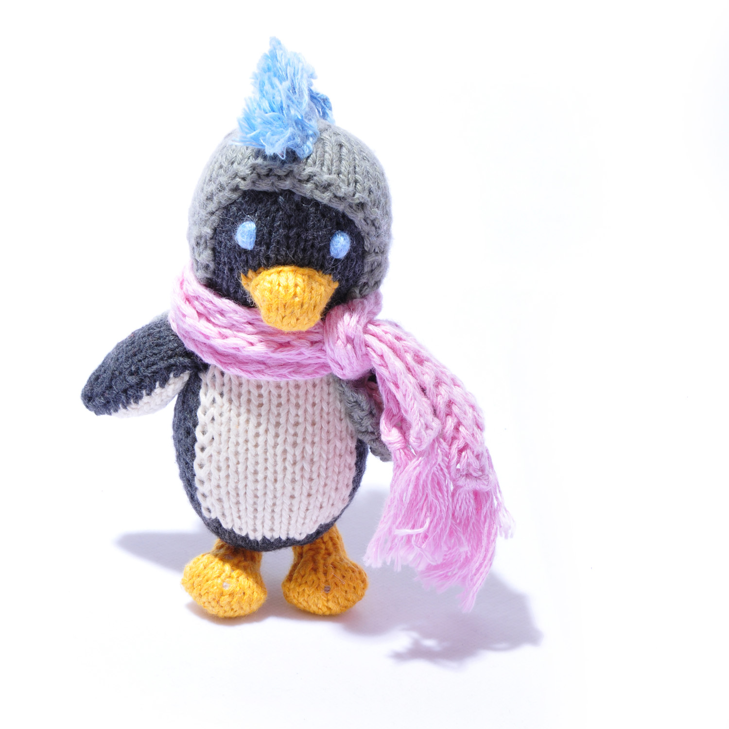 Penguin Toddler Soft Toy by ChunkiChilli