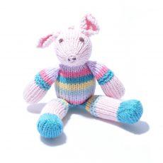 Organic Cotton Pig Soft Toy by ChunkiChilli