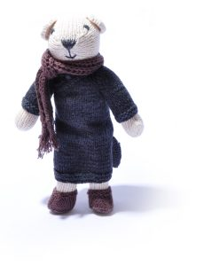 Polar Bear Soft Toy by ChunkiChilli