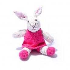 Rabbit Toddler Soft Toy by ChunkiChilli