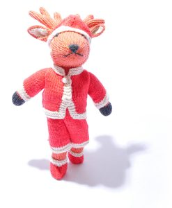 Christmas Reindeer Soft Toy by ChunkiChilli