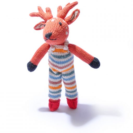 Organic Cotton Reindeer Hand Puppet by ChunkiChilli