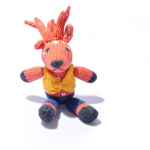Reindeer Toddler Soft Toy by ChunkiChilli