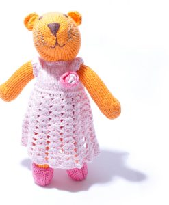 Tiger in Crochet Dress by ChunkiChilli