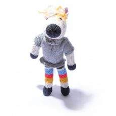 Horse Soft Toy in Stripy Trousers by ChunkiChilli