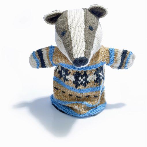Badger Hand Puppet