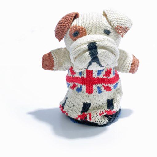 Bulldog Hand Puppet