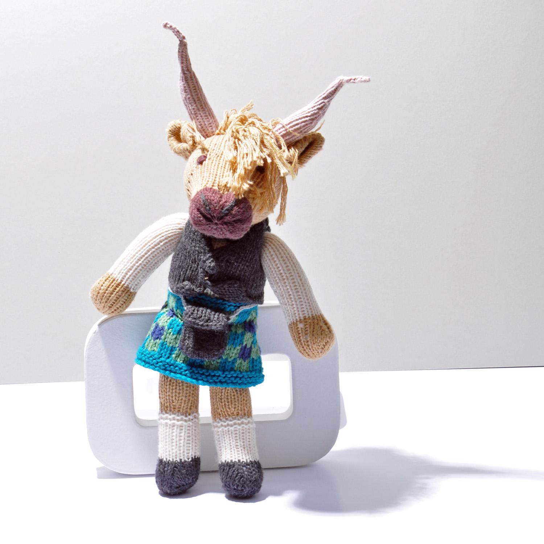 Highlander Cow Soft Toy