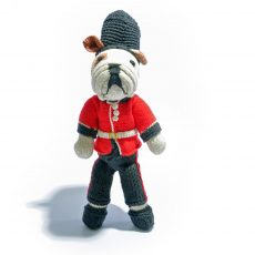 Bulldog Soldier Soft Toy
