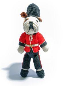 Bulldog Soldier Soft Toy