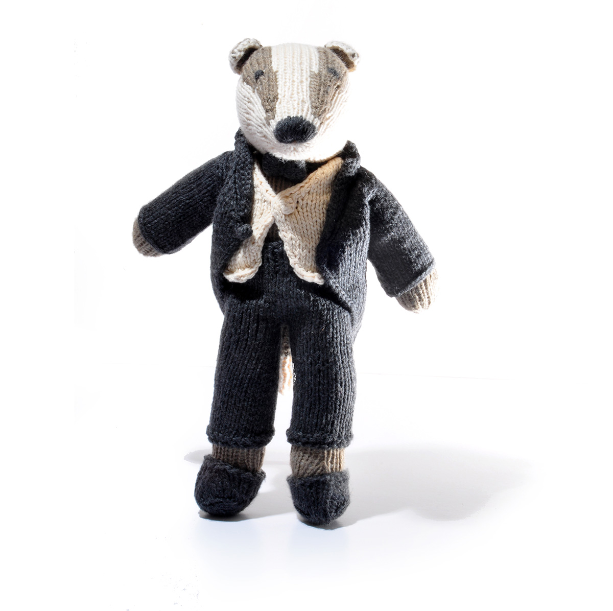 Badger Soft Toy in Morning Coat