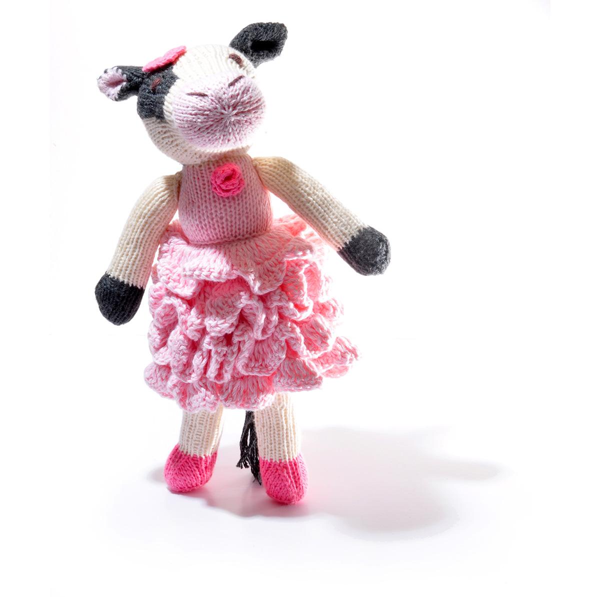 Cow in Flamenco Dress