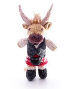 Highlander Cow Soft Toy Toddler