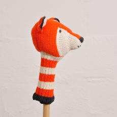 Knitted Fox Head Golf Club Cover