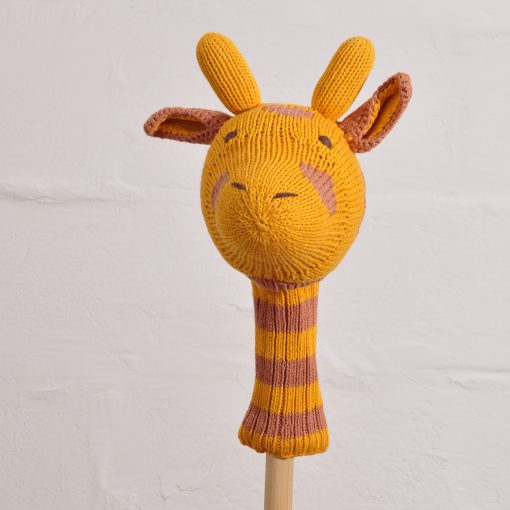 Giraffe Head Golf Club Cover
