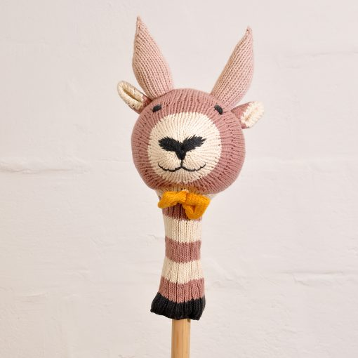 Knitted Goat Golf Club Cover in Organic Cotton