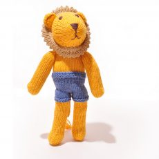 Naked Lion Soft Toy