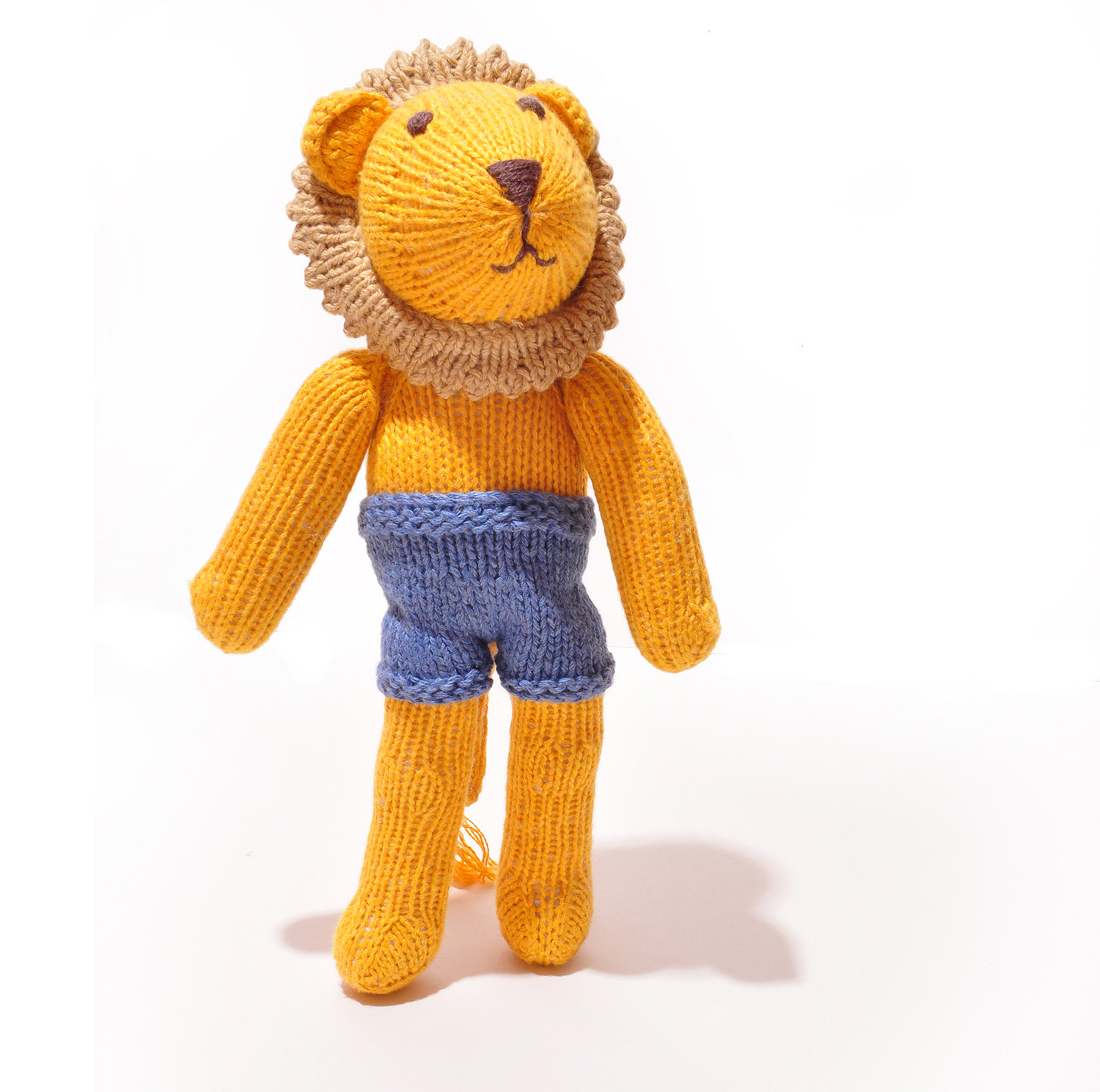 Lion Soft Toy in Blue Shorts for Changeable Clothes – ChunkiChilli 68d25fea8e1c