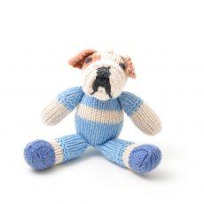 ChunkiChilli Bulldog Soft Toy in Organic Cotton