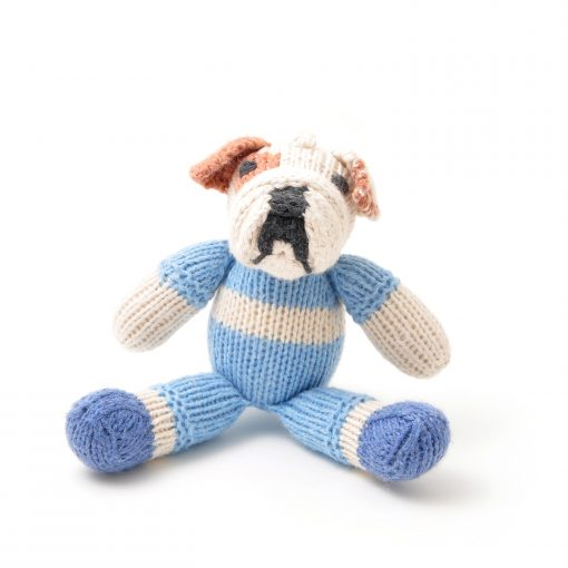 ChunkiChilli Bulldog Soft Toy in Organic Cotton