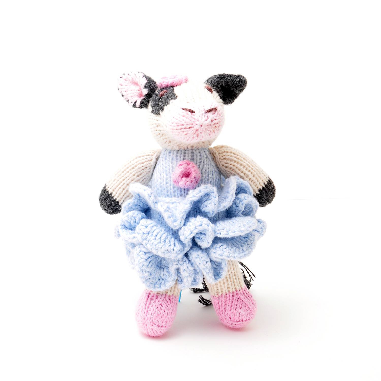 ChunkiChilli Fresian Cow Soft Toy