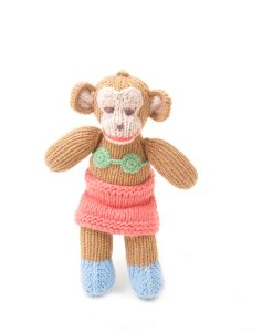 ChunkiChilli Monkey Toddler Soft Toy