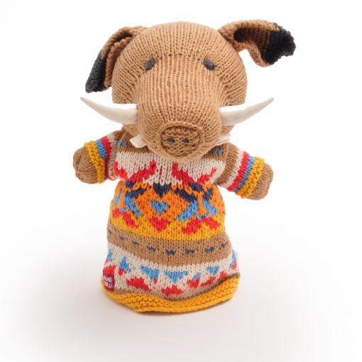 ChunkiChilli Wild Boar Hand Puppet