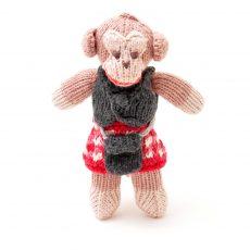 ChunkiChilli Monkey Soft Toy in Kilt