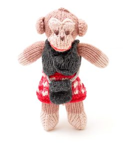 ChunkiChilli Monkey Soft Toy in Kilt