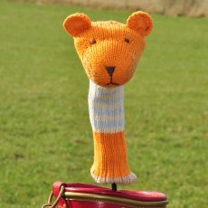 ChunkiChilli Tiger Hand Knitted Golf Head Cover