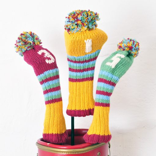 ChunkiChilli Golf Head Cover Set