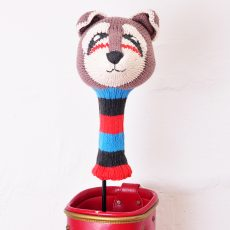ChunkiChilli Raccoon Golf Head Cover