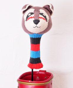 ChunkiChilli Raccoon Golf Head Cover